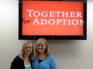 W & K at Together for Adoption Conference